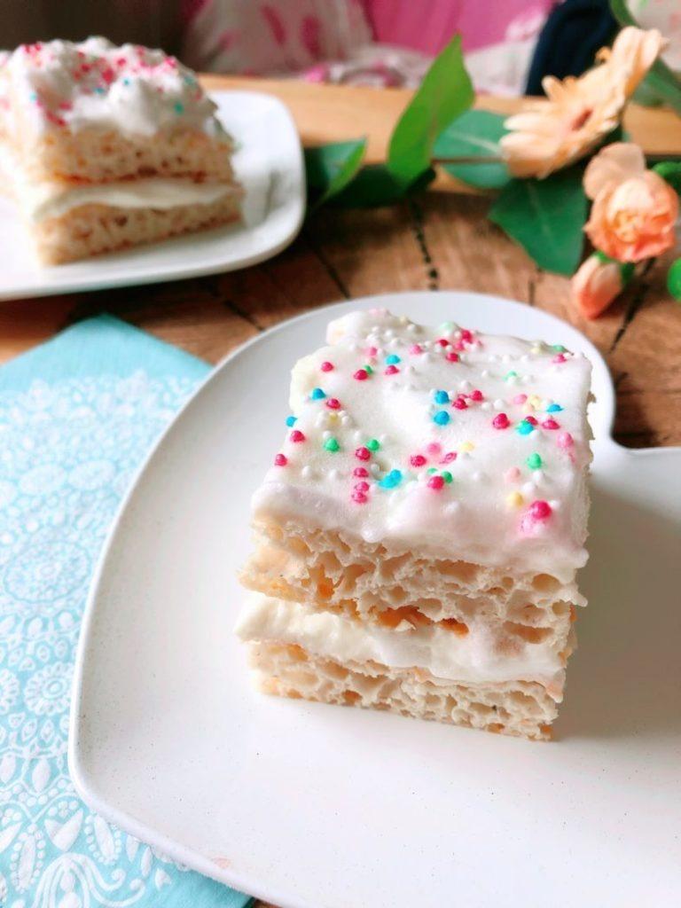 birthday cake rezept schnitten lowcarb proteinkuchen