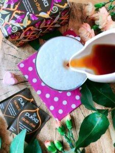 chai latte proteinreich zubereitung feature