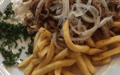 Gyros Essen Vorher Nachher Teller
