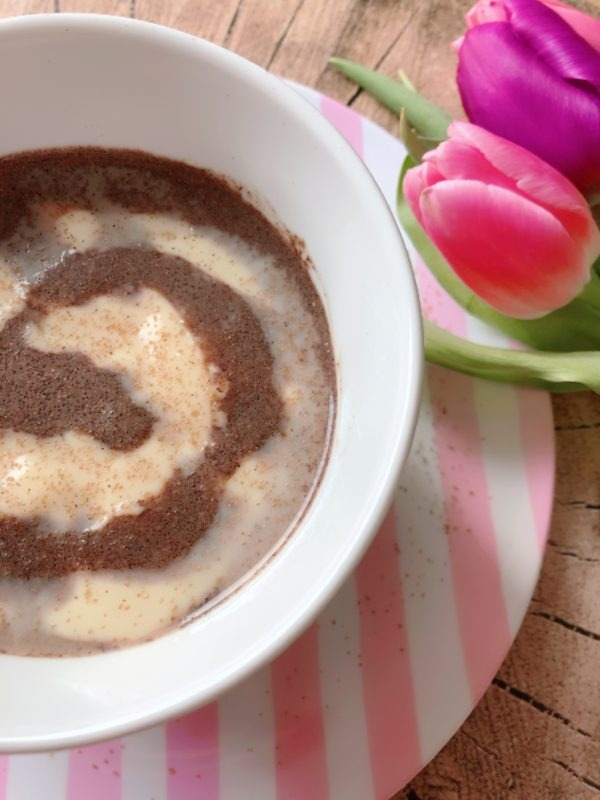 hot cinnamon bun lowcarb custard