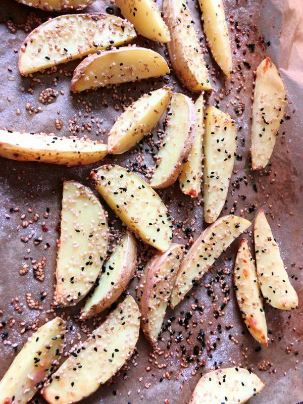 kartoffelspalten bagle style