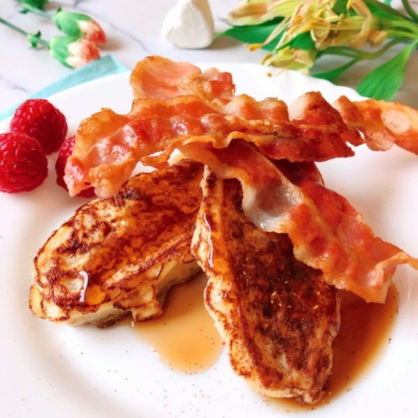lowcarb protein french toast