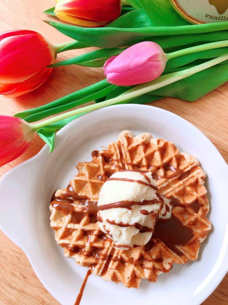 protein joghurt waffeln dr almond