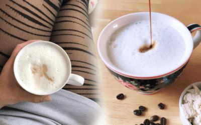 "Proteinkaffee Rezept ""Latte Macciato"""
