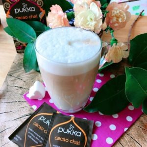 proteinreicher chai latte rezept