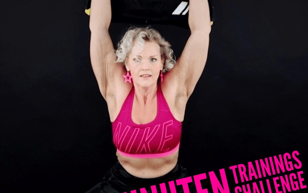 9 Minuten Fitness Challenge für Menschen mit Übergewicht