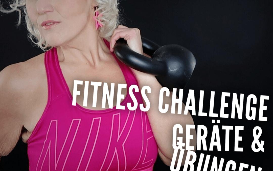 Die Übungen & das Equipment der Fitness Challenge