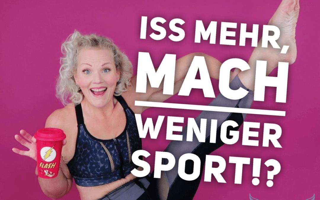 """Buch: """"Iss mehr, mach weniger Sport"""" – Calorie Myth"""