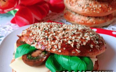Proteinbagel Freitag: Hanf Zucchini Bagel Rezept