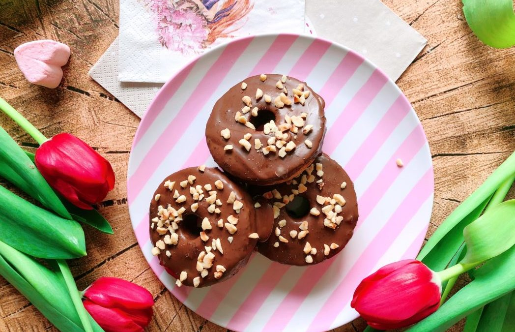 Protein Donut Lowcarb – Haselnuss Schokoladen Donut Rezept