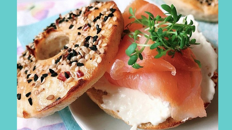 Pastinaken Mini Bagels High Protein
