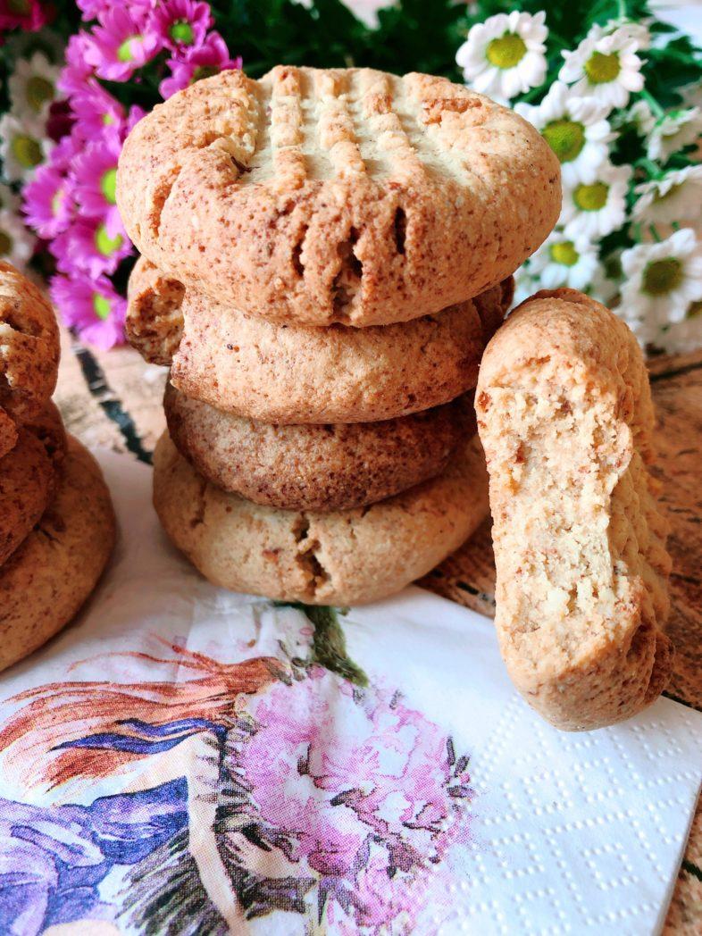 protein erdnussbutter cookies eiweissreich