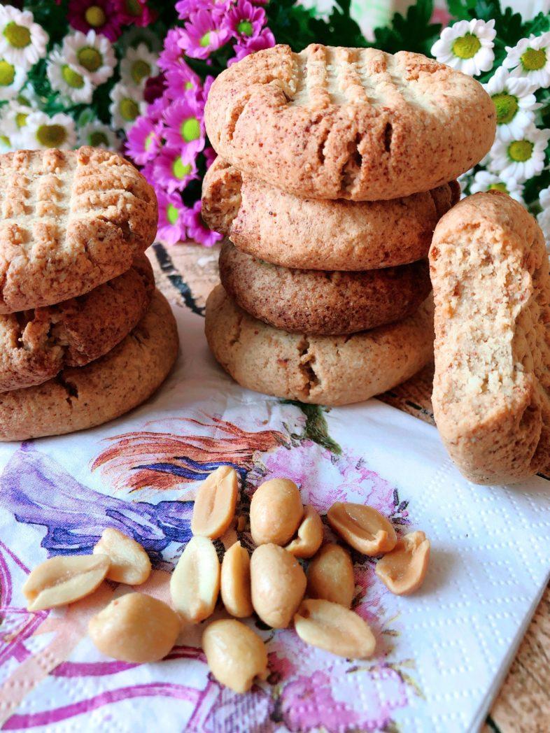 protein erdnussbutter cookies kekse
