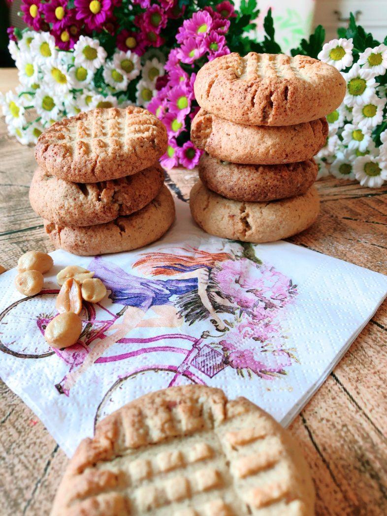 protein peanutbutter cookies recipe lecker erdnussbutter
