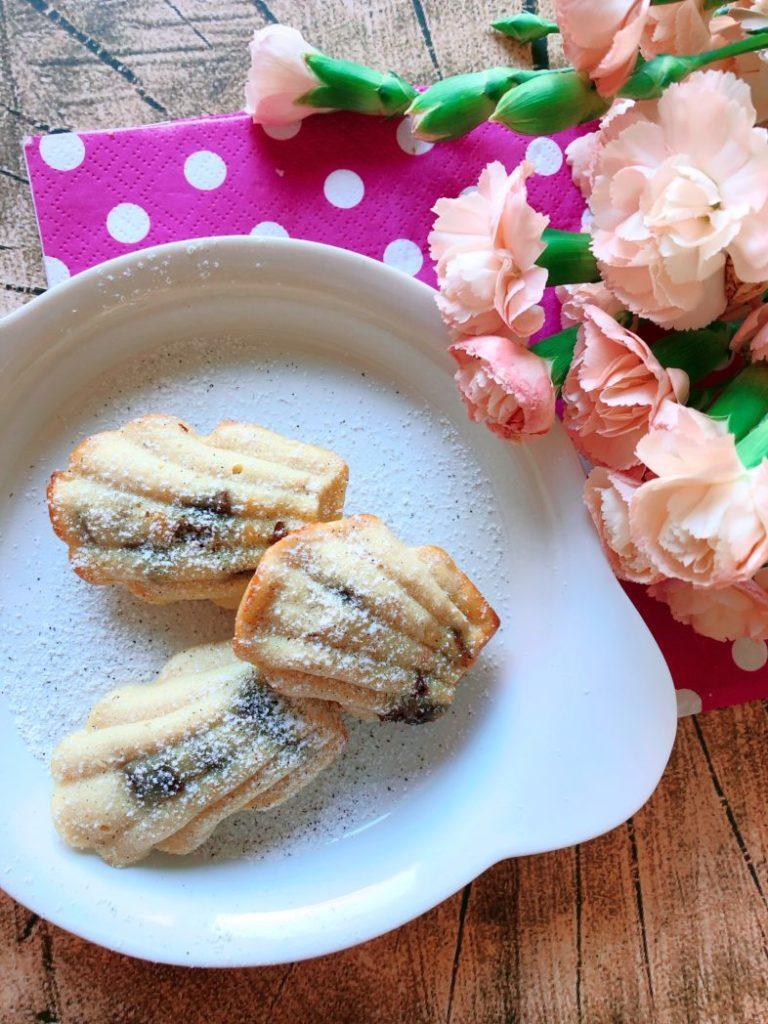 protein madeleines saftig aprikose