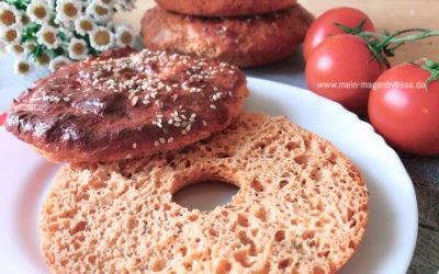 Red Pesto Protein Bagels – Magenbypass Rezept