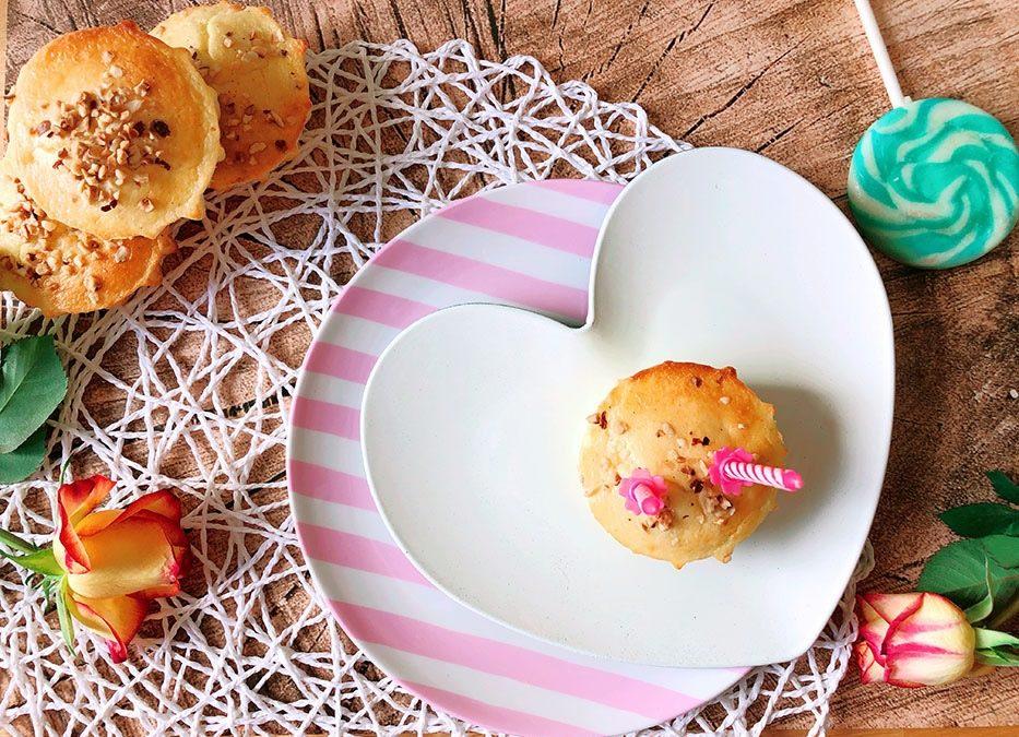 Protein Käsekuchen Muffins – Rouxdolphs Geburtstagsrezept