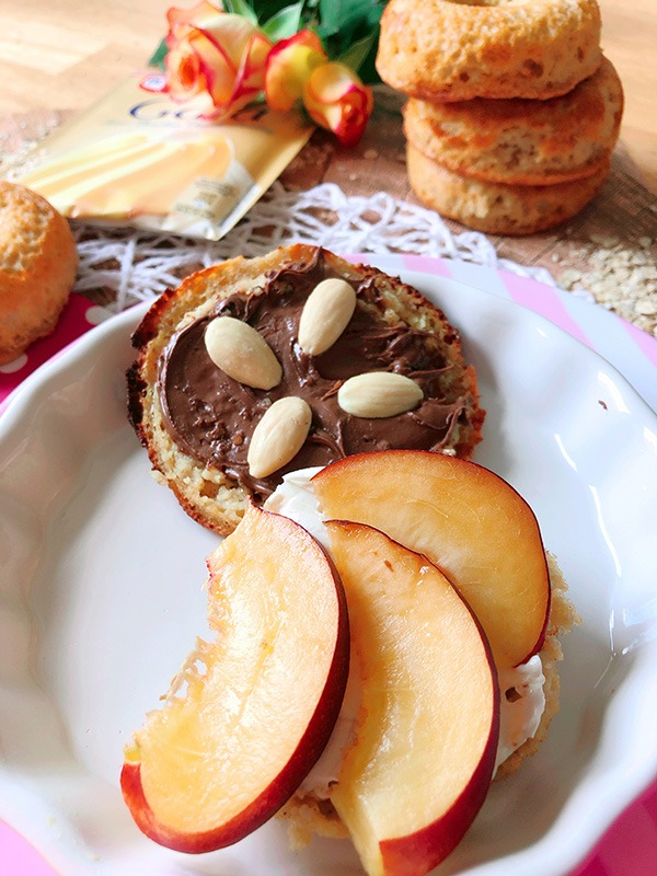 protein bagel rezept haferflocken pudding