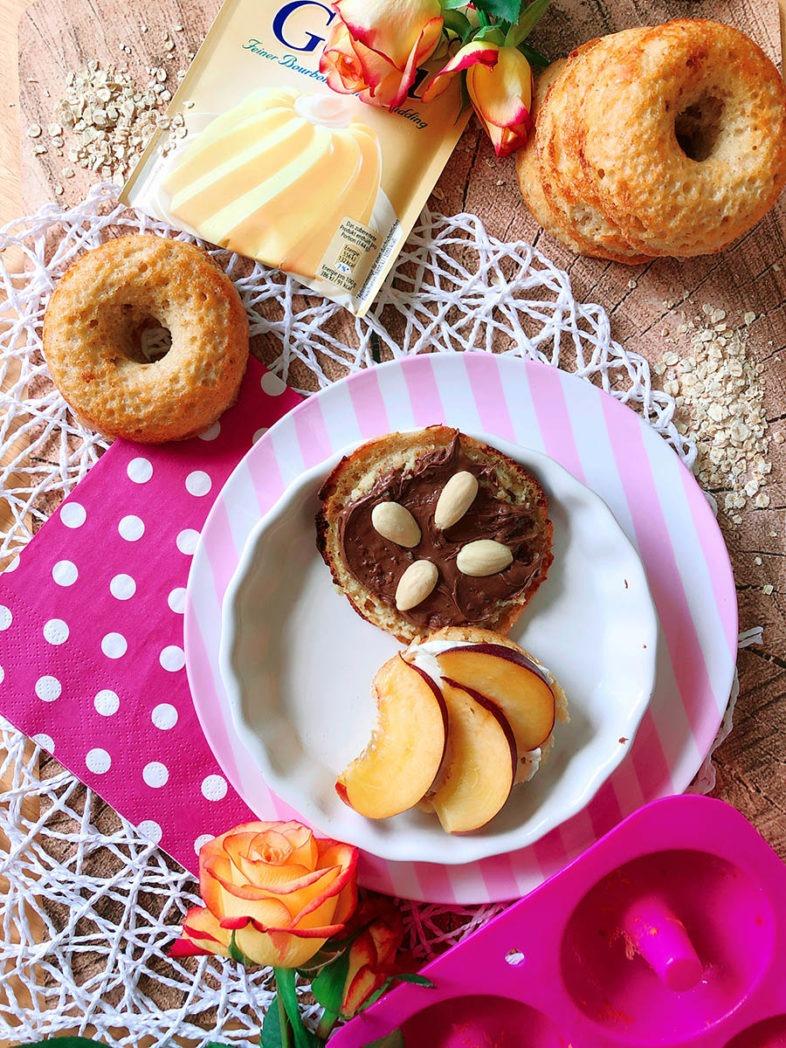 protein bagel rezept pudding oats feature