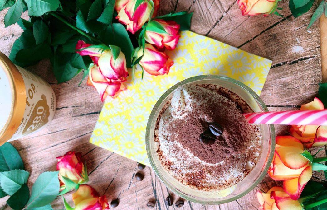 Protein Eiskaffee Slushy – Milchshake zum Abnehmen geeignet
