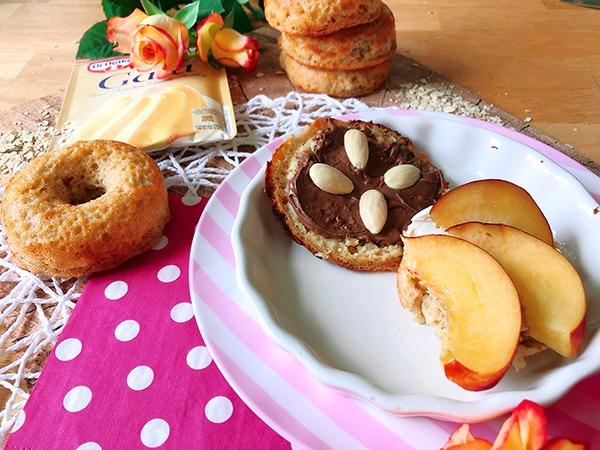 """Protein Bagels """"Pudding Oats"""" Style – Oder die hässlichsten Bagels der Welt"""