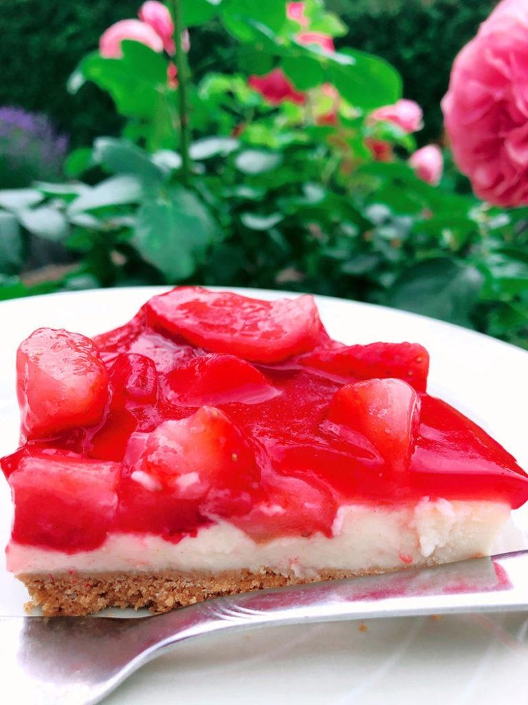 erdbeer torte frischkaese rezept