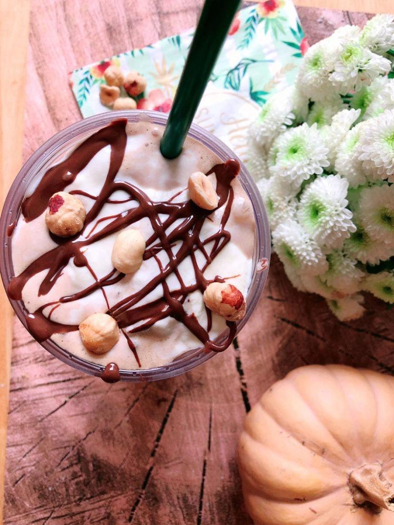 haselnuss frappuccino rezept