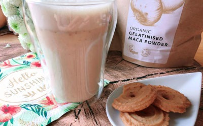 High Protein Maca Latte – Herbstliches Superfood
