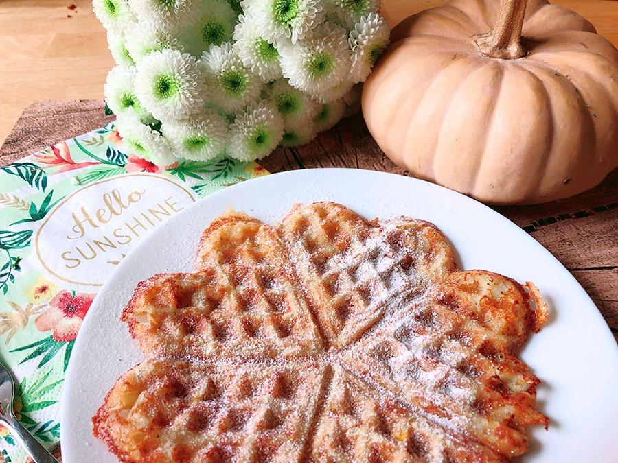 ketogene ernaehrung waffle chaffle rezept