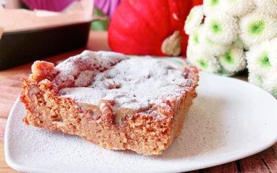 Pumpkin Cheesecake Bars – Protein Käsekuchen mit Kürbis