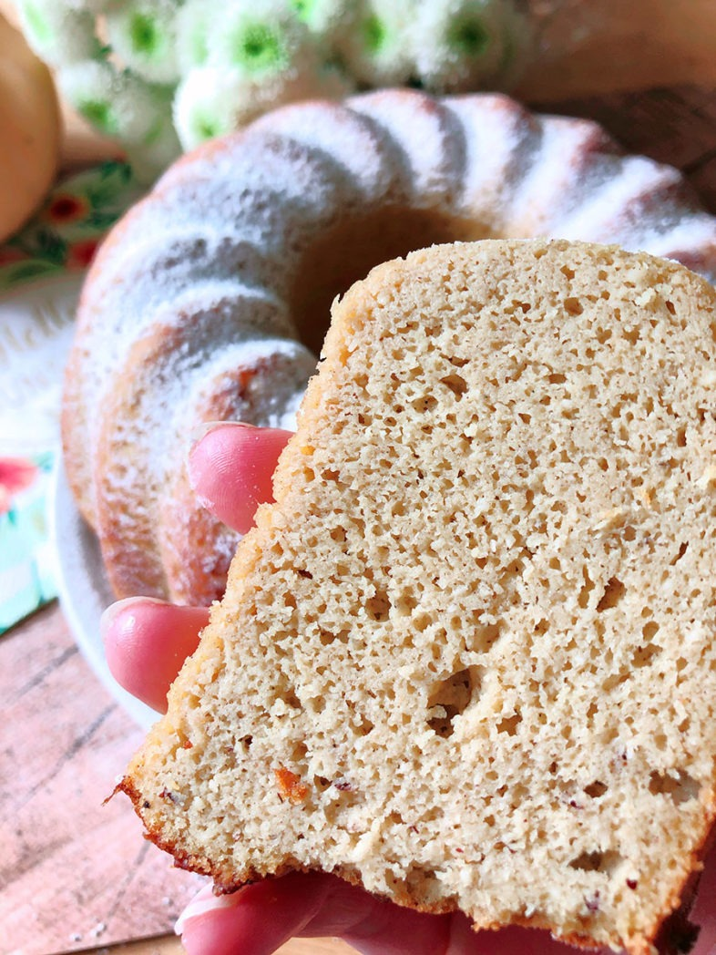 protein kuerbis kuchen rezept