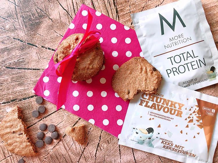 lowcarb schokoladen protein kekse selber backen