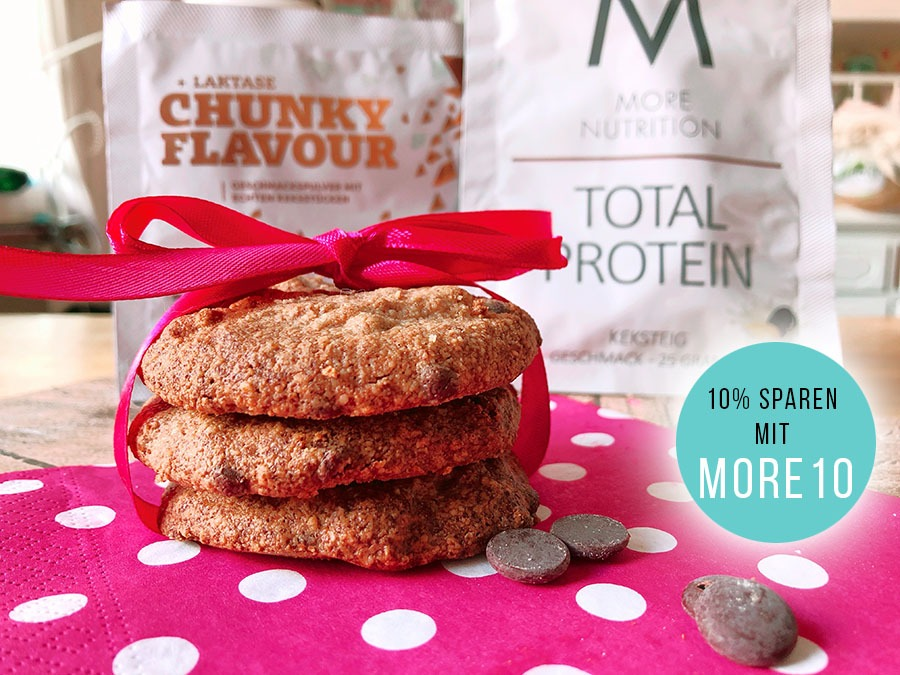 protein chocolate chip cookies rezept lowcarb