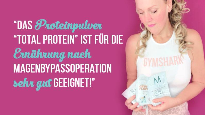 proteinpulver nach magenbypassoperation