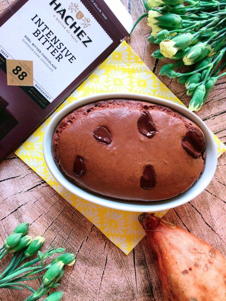 rezept suesskartoffel brownies lowcarb