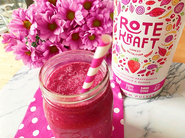 Roter Superfood Smoothie – Immunbooster für den Herbst