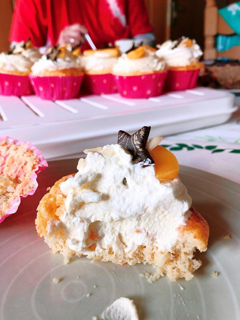 spekulatius pfirsich muffins rezepts