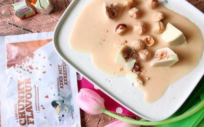 Ferrero Küsschen Wackelquark – Vanille Haselnuss High Protein Quark