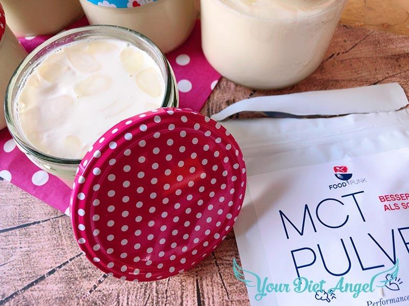 Mandel Knusperjoghurt mit MCT Öl selber machen