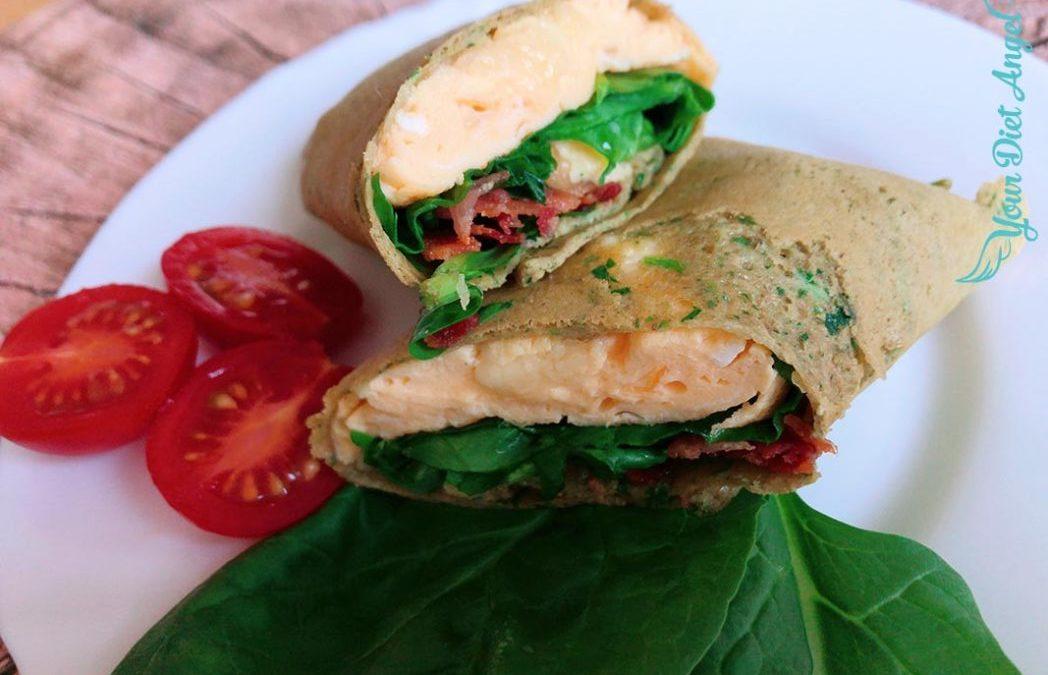 Protein Burritos – Einfache Eiweiß Wraps mit 3 Zutaten