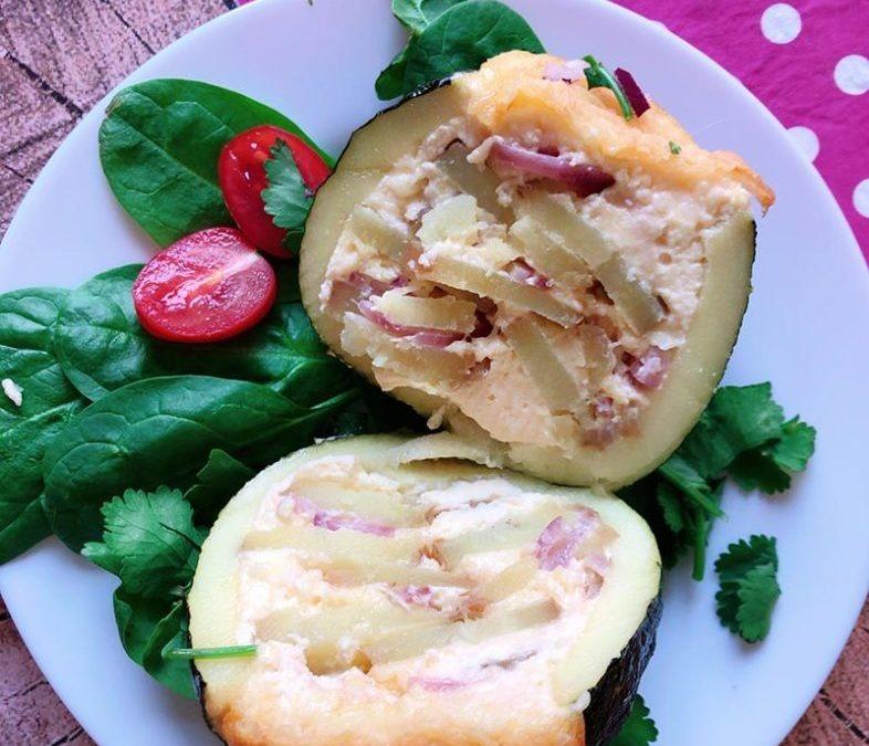 Kartoffelgratin Zucchini Bombe – Proteinreich vegetarisch