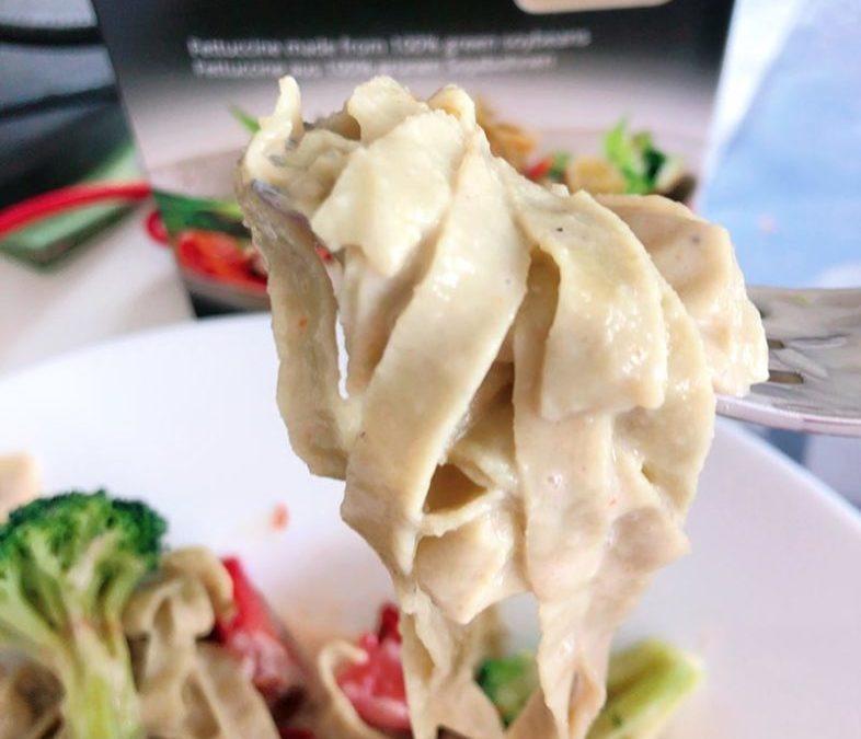 Protein Nudeln aus grünen Sojabohnen – Review
