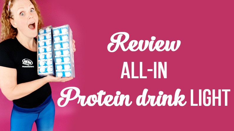 all-in Protein Drink light – Erfahrungsbericht
