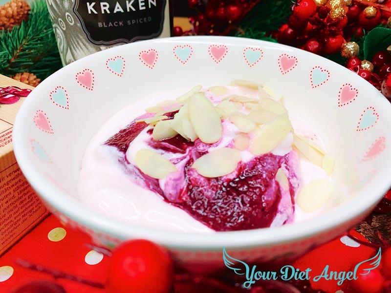 amarena kirschen marzipan joghurt5