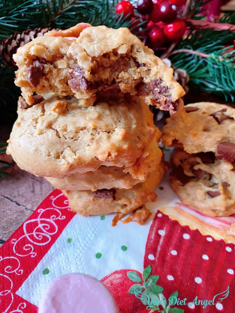 chocolate chip cookies gesundes rezept13