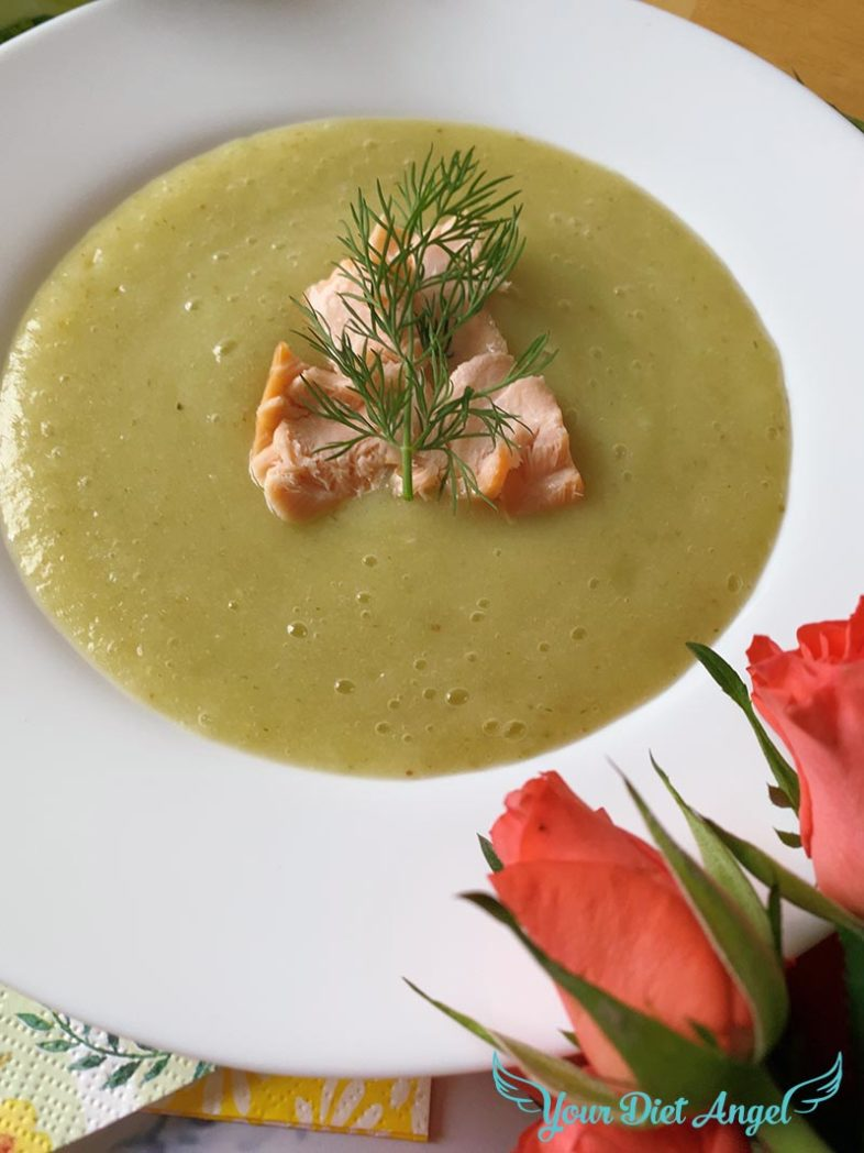 fenchel suppe mit streml lachs1