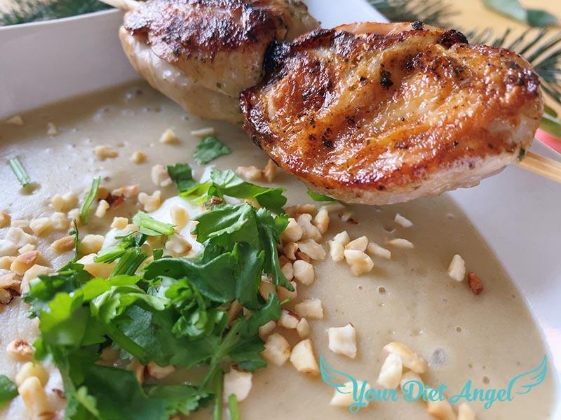 maronencreme suppe mit wachtelbrust12