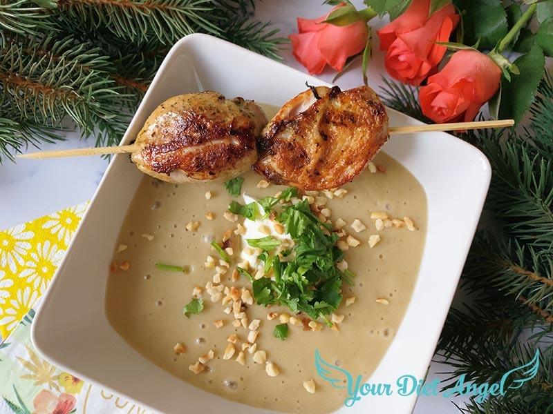maronencreme suppe mit wachtelbrust3