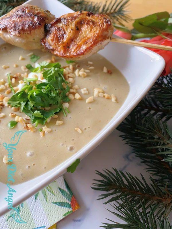 maronencreme suppe mit wachtelbrust6