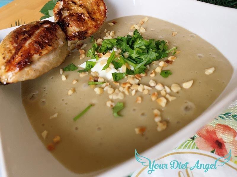 maronencreme suppe mit wachtelbrust8